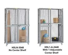 ALL-WELDED STORAGE LOCKERS